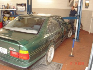 bmw restauration alpina b10 biturbo e34. Black Bedroom Furniture Sets. Home Design Ideas